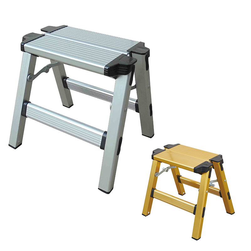 LB202-205 Folding metal step stool