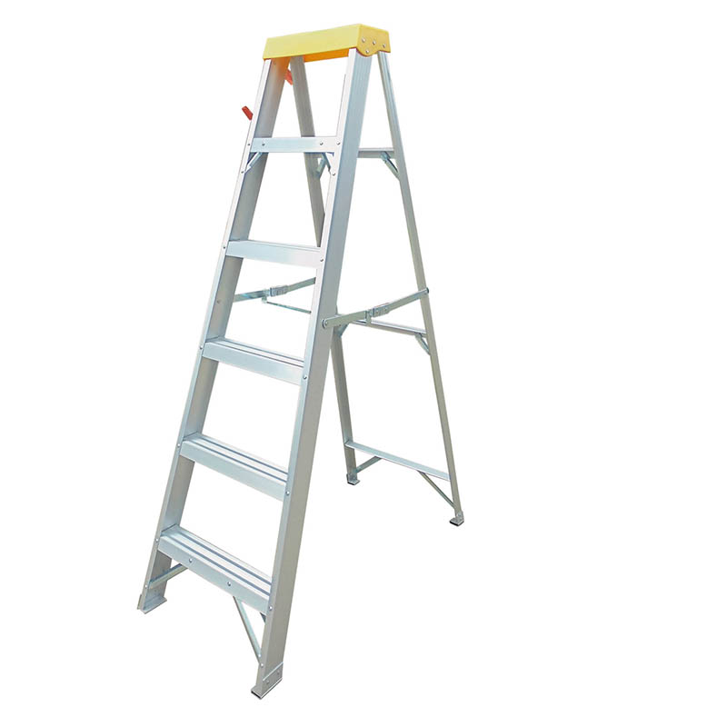 300mm Step Rise  Heavy Duty Aluminium Step Ladder EN131