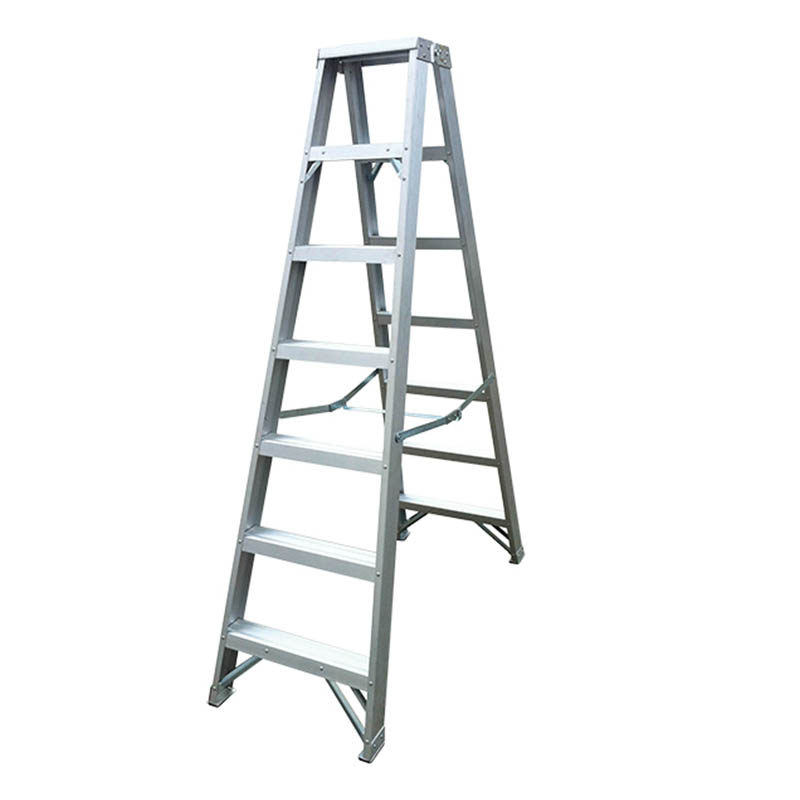 300mm Step Rise Double Side Aluminium Step Ladder Heavy Duty 150kgs