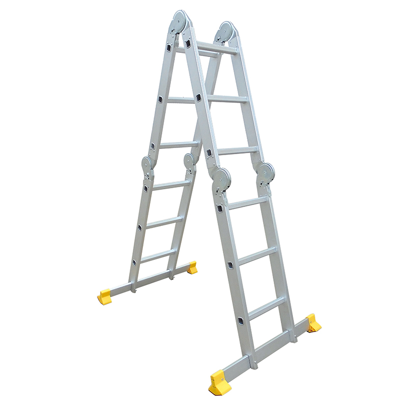 LC7412B-AU  Multi-Purpose  4x3 Aluminium Folding  Ladder